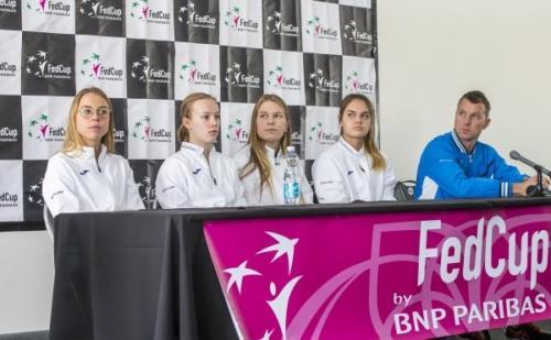 Fed Cup 2018 pressikonverents