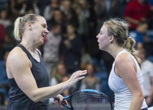 Eesti Meedia Tennis Cup - Kanepi vs Kontaveit