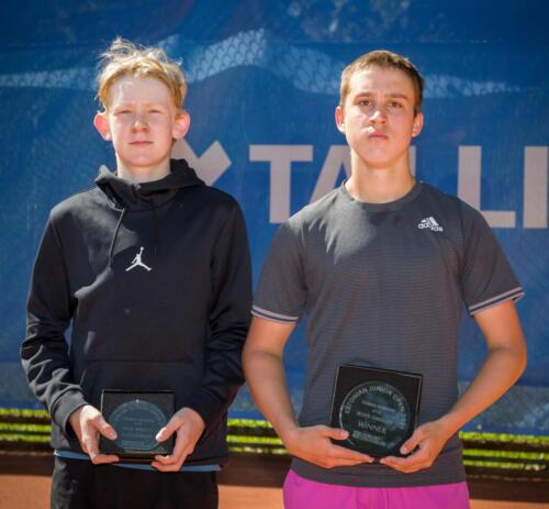 Estonian Open 2021 U16 boys singles